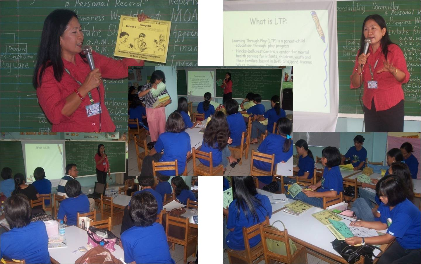 Ttl Model Angelita Ltp trainors' traning for the day care workers of